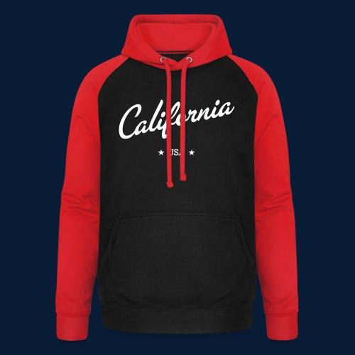 California - Unisex Baseball Hoodie