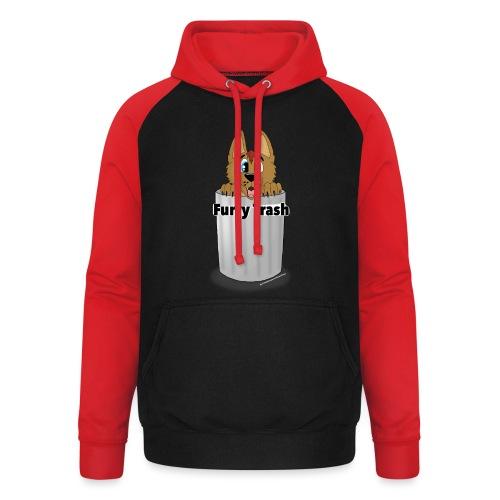 Furry Trash - Unisex baseball hoodie