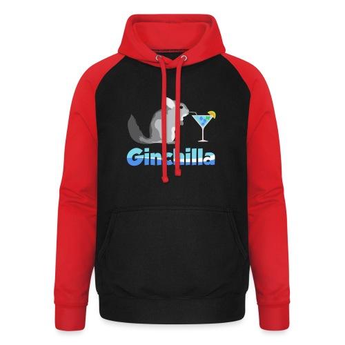 Gin chilla - Funny gift idea - Unisex Baseball Hoodie