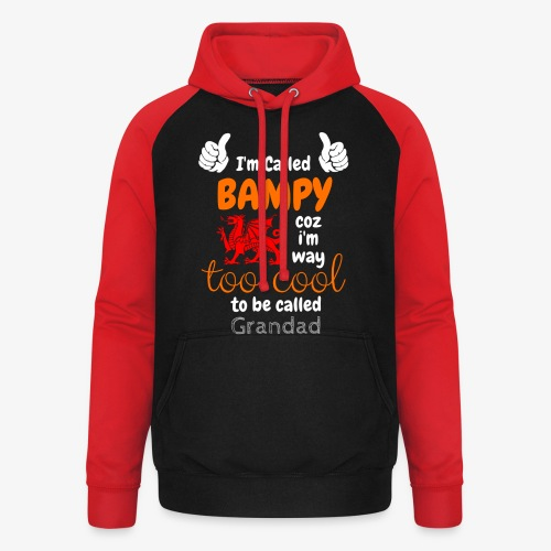 I'm Called BAMPY - Cool Range - Unisex Baseball Hoodie