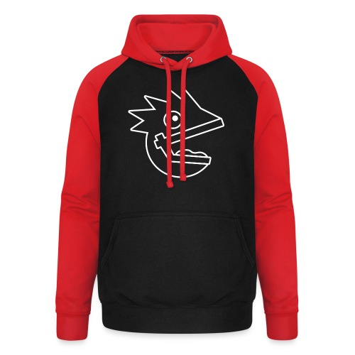 Outline New png - Unisex Baseball Hoodie