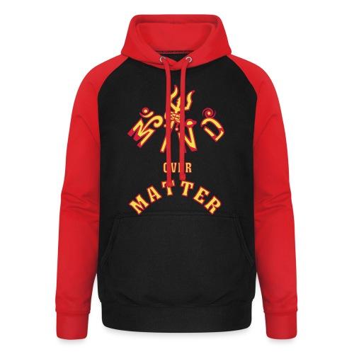 Mind over Matter - Unisex baseball hoodie