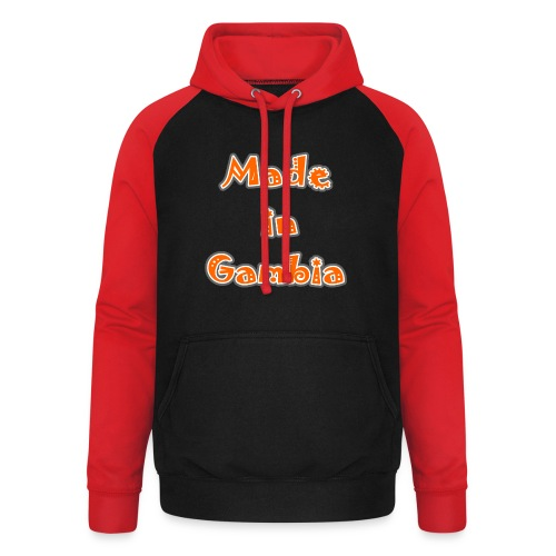 Made in Gambia - Unisex Baseball Hoodie