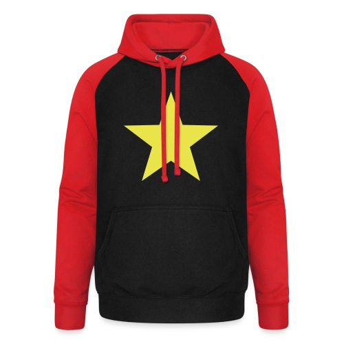 étoile couleurs modifia.. - Sweat-shirt baseball unisexe