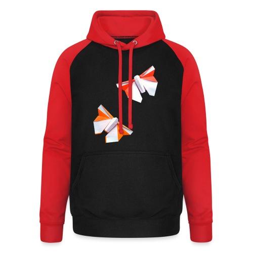 Butterflies Origami - Butterflies - Mariposas - Unisex Baseball Hoodie