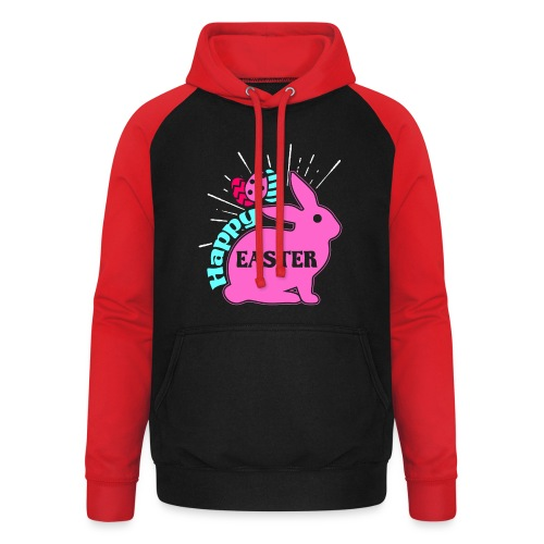 Happy Easter - Frohe Ostern - Unisex Baseball Hoodie
