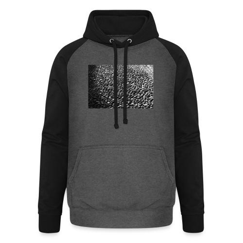cobblestone shirt - Unisex baseball hoodie