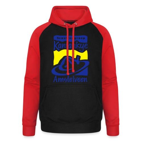 logo simpel 2 - Unisex baseball hoodie