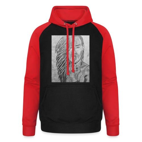 Jyrks_kunstdesign - Unisex baseball hoodie
