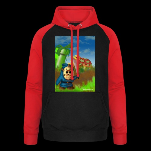 SuperMario: Not so shy guy - Unisex baseball hoodie