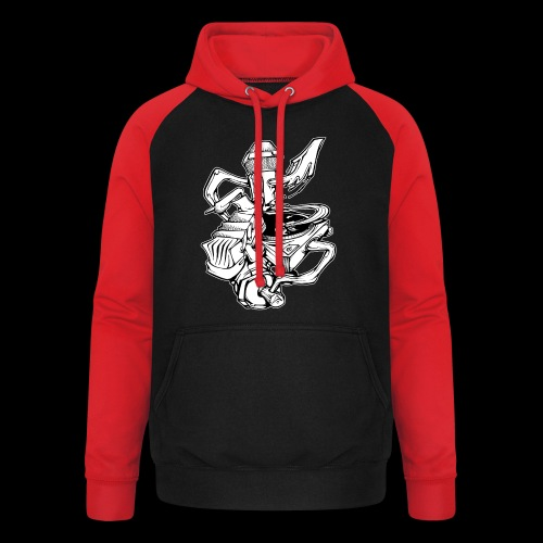 The Real HipHop Elements - Unisex Baseball Hoodie