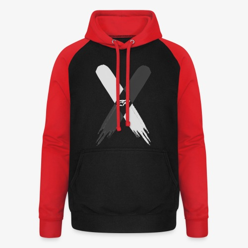 X - Unisex Baseball Hoodie