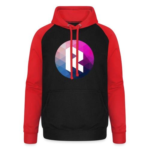 radiant logo - Unisex Baseball Hoodie