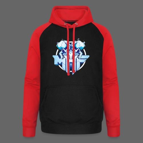 MHF New Logo - Unisex Baseball Hoodie