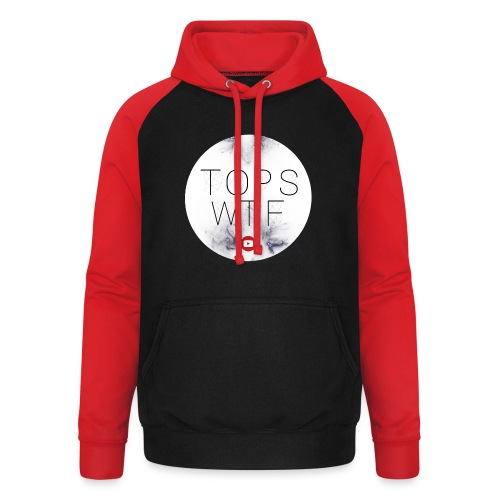 Official TOPS WTF T-Shirt - Unisex Baseball Hoodie