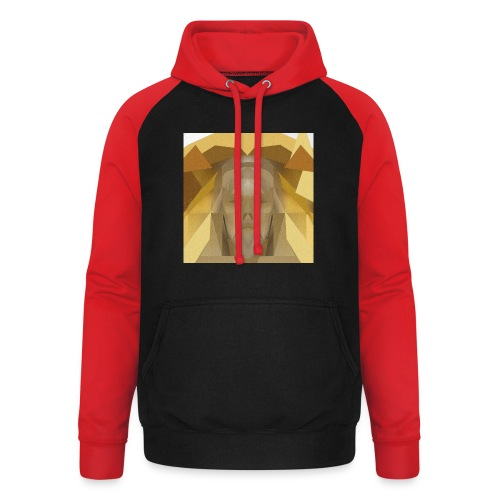 In awe of Jesus - Unisex Baseball Hoodie