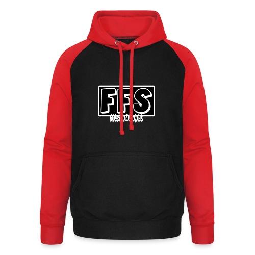 ff Standaard Shirt, Met FFS logo! - Unisex Baseball Hoodie