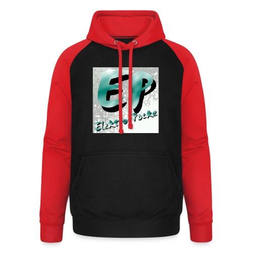 Elektro-Pocke T-Shirt Premium - Unisex Baseball Hoodie