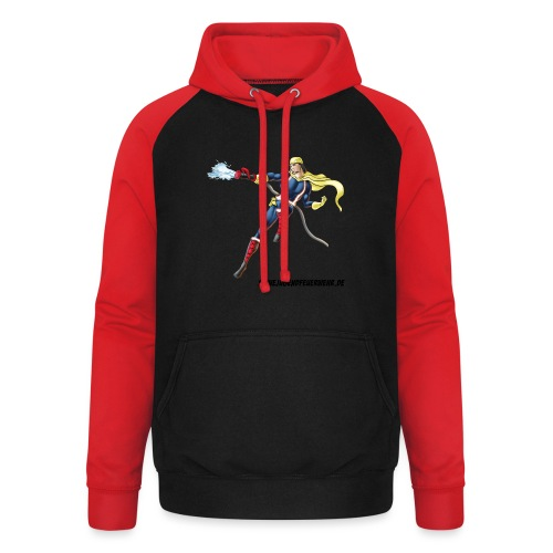Captain Firefighter - Unisex Baseball Hoodie