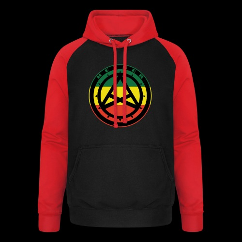Nether Crew Black\Green\Yellow\Red Hoodie - Felpa da baseball con cappuccio unisex