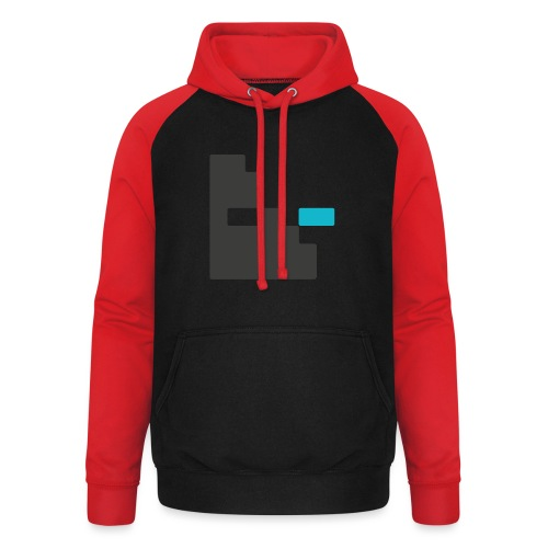 Mortu Logo - Unisex baseball hoodie