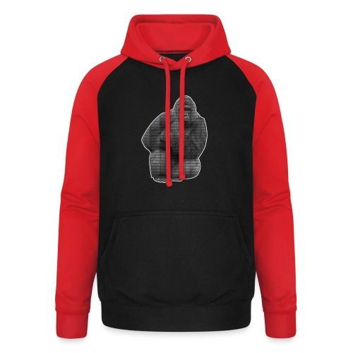 harambe 2k png - Unisex baseball hoodie