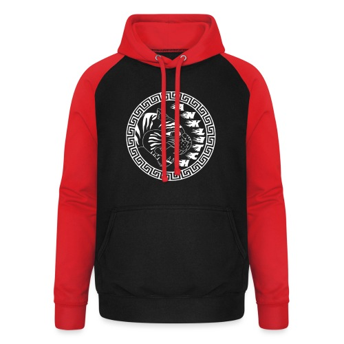 trui Anklitch - Unisex baseball hoodie