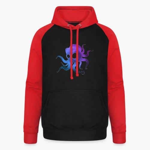 Space Squid - Unisex baseball hoodie