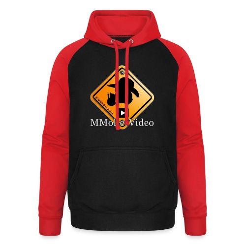 Logo MMolterVideo - Unisex Baseball Hoodie