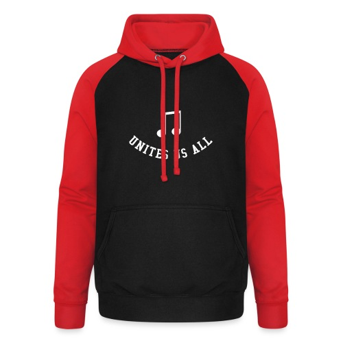 Music Unites Us All Shirt - Unisex Baseball Hoodie