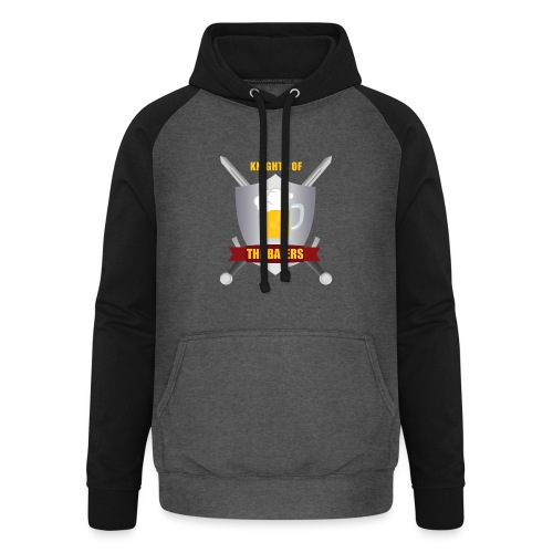 Knights of The Bajers - Unisex baseball hoodie