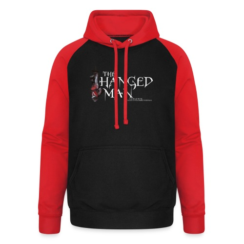 The Hanged Man Design - Unisex Baseball Hoodie