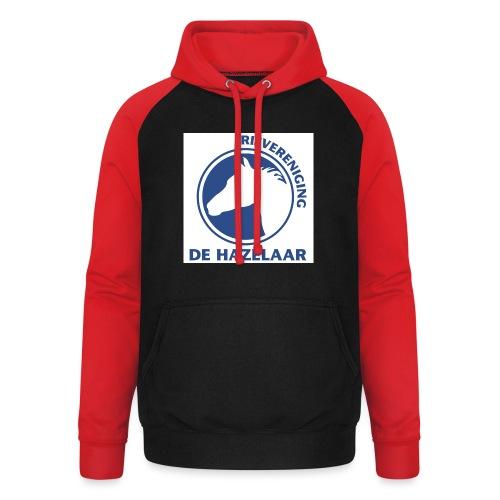 LgHazelaarPantoneReflexBl - Unisex baseball hoodie