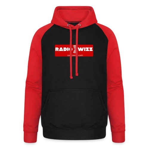 Radio Wizz - Unisex Baseball Hoodie