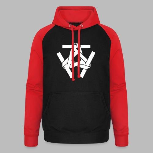 KKK-Logo-vektor - Unisex Baseball Hoodie