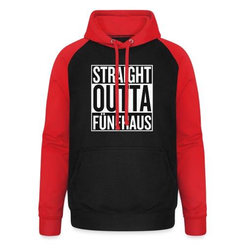 Straight Outta Fünfhaus - Unisex Baseball Hoodie