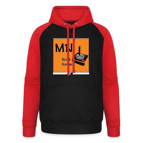 Mtj Logo - Unisex baseball-hettegenser