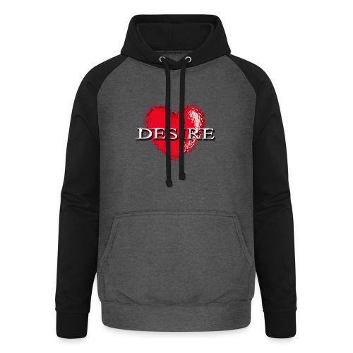 Desire Nightclub - Unisex Baseball Hoodie