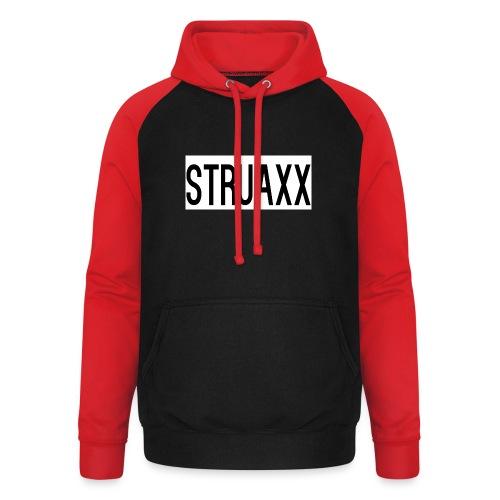 struax - Unisex baseball hoodie