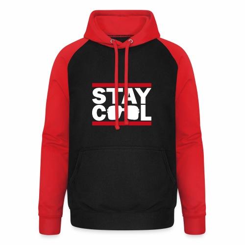 Stay Cool ver02 - Unisex baseball hoodie