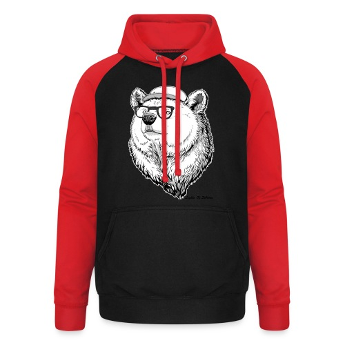 Lights Of Siberia - Unisex Baseball Hoodie