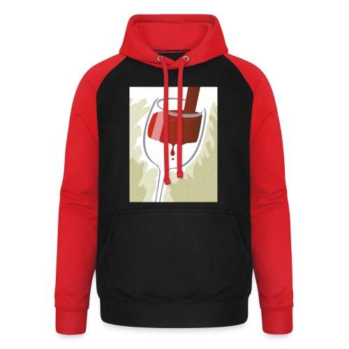 Glas Halfvol - Unisex baseball hoodie