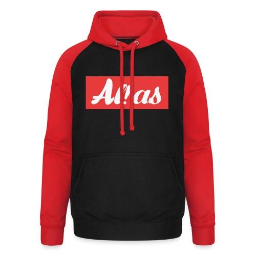 Al!as - Unisex baseball hoodie