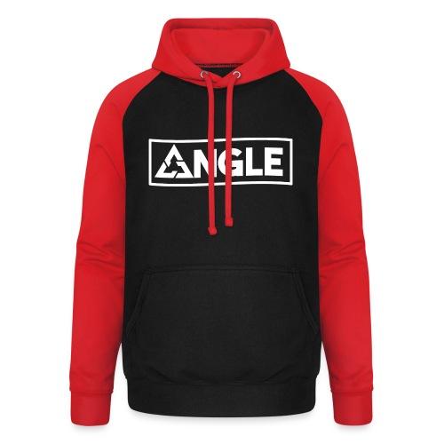 Angle Brand - Felpa da baseball con cappuccio unisex