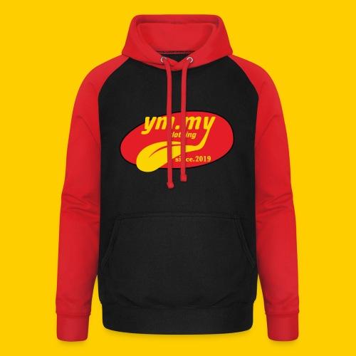 YM.MY clothing LOGO - Unisex Baseball Hoodie