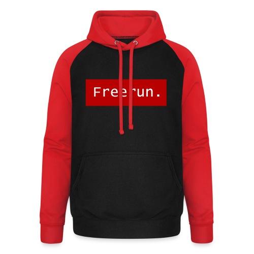 Freerun. - Unisex baseball hoodie