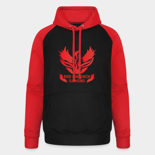 Red Phoenix Gaming - Sweat-shirt baseball unisexe