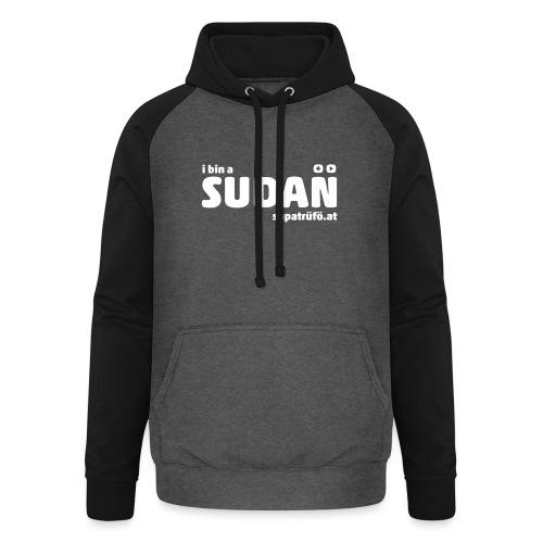 supatrüfö SUDAN - Unisex Baseball Hoodie