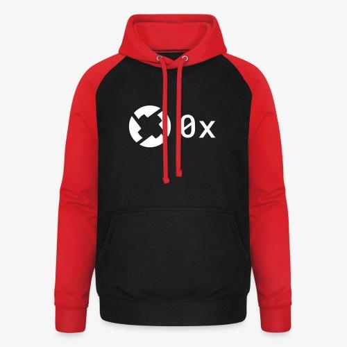 0x - Unisex Baseball Hoodie