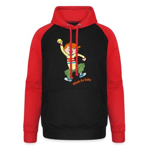 Villads fra Valby - Unisex baseball hoodie